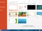 Microsoft Powerpoint 2013 - Startscherm