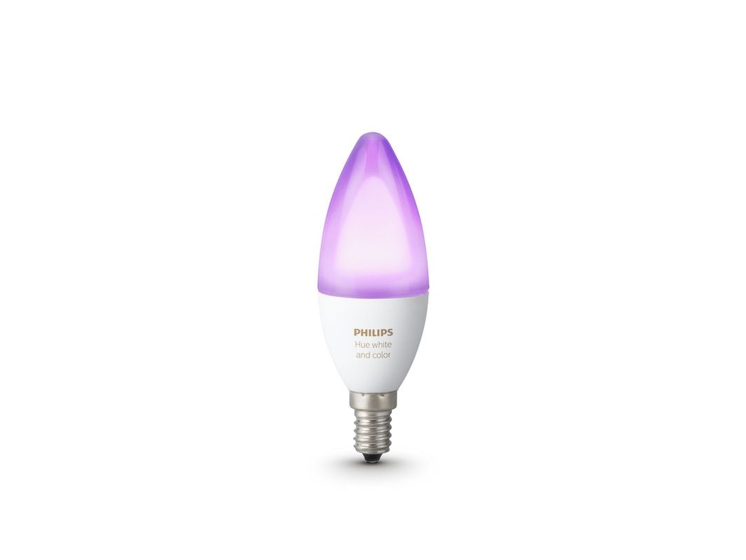 Stroomverbruik Hue Lampen : Philips lighting brengt hue candle met e fitting uit beeld en