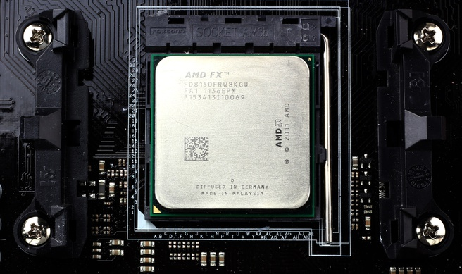 AMD FX8150 in socket