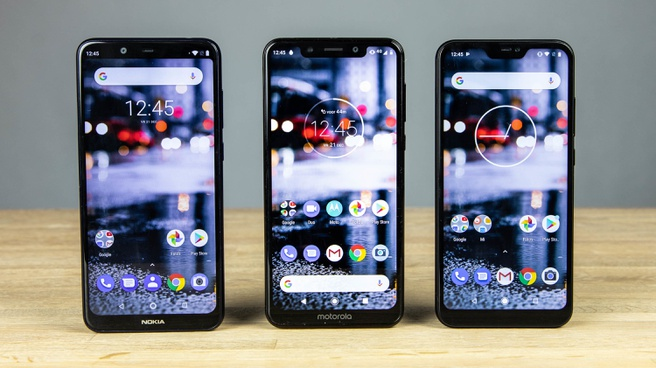 Android One - Nokia 5.1 Plus, Motorola One en Xiaomi Mi A2 Lite
