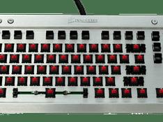 Toetsenbord zonder toetsen