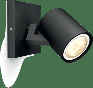Philips Hue Runner spot zwart (White Ambiance, incl DIM switch)