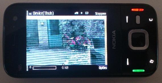 Voorbeeld Nokia N85
