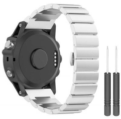 Just In Case Metalen Armband Chain Garmin Fenix 3 Fenix 3 Hr