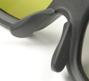 Philips PFL9706 bril neusvleugeltjes