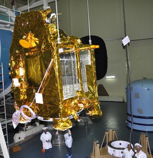 Mangalyaan-satelliet van India