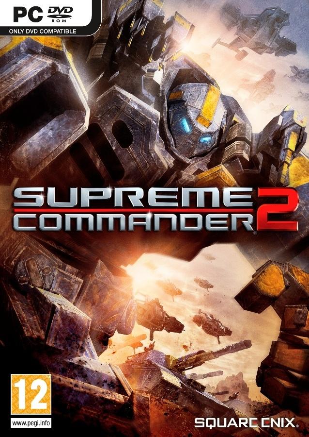 Packshot voor Supreme Commander 2