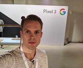 Pixel 3 - wide-angle frontcamera