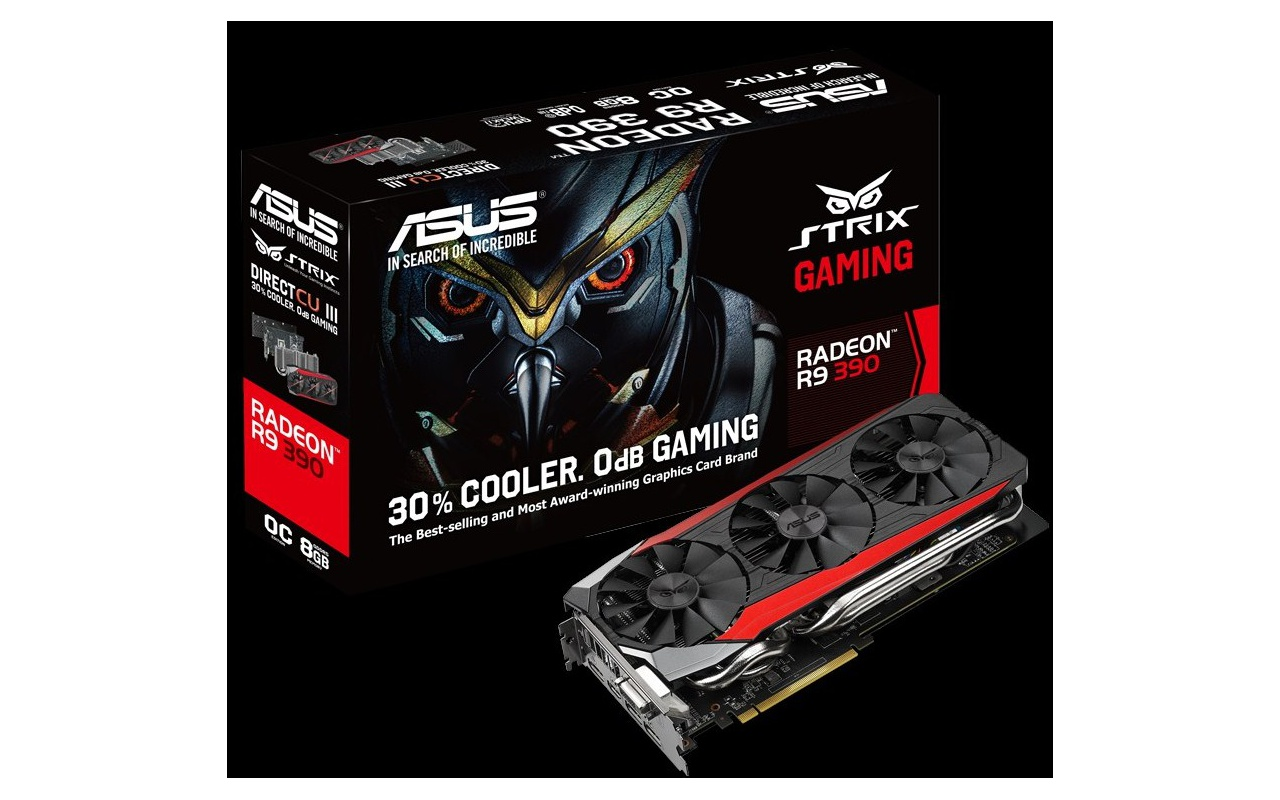 Asus Strix Radeon R9 390 390X