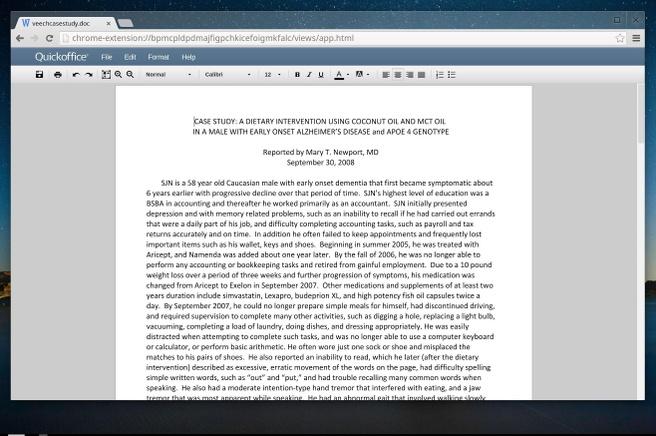 Chrome OS - Office-editting