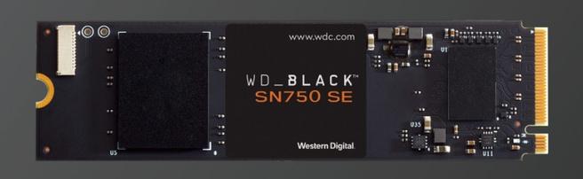 WD Black SN750 SE