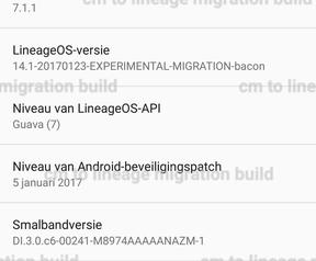 Lineage maakt bekend welke toestellen builds van CyanogenMod