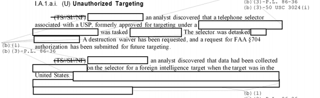 Screenshot NSA