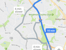 Maps met parkeerindicatie