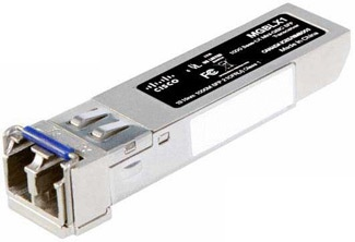 Cisco Cisco Small Business MGBLX1 - SFP (mini-GBIC) transceivermodule - 1000Base-LX - insteekmodule - maximaal 10 km - 1310 nm