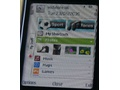 Vodafone Homescreen op Nokia N85 (foto's: Noknok.tv)