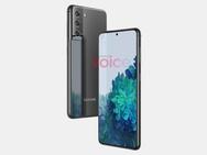 Samsung Galaxy S21-renders van OnLeaks