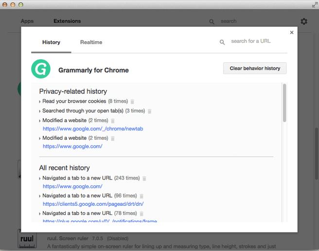 Chrome Apps & Extensions Developer Tool resize