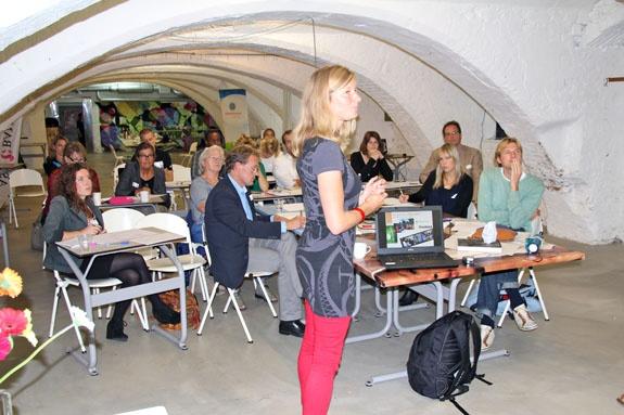 De presentatie over het verfijnen van je businessplan