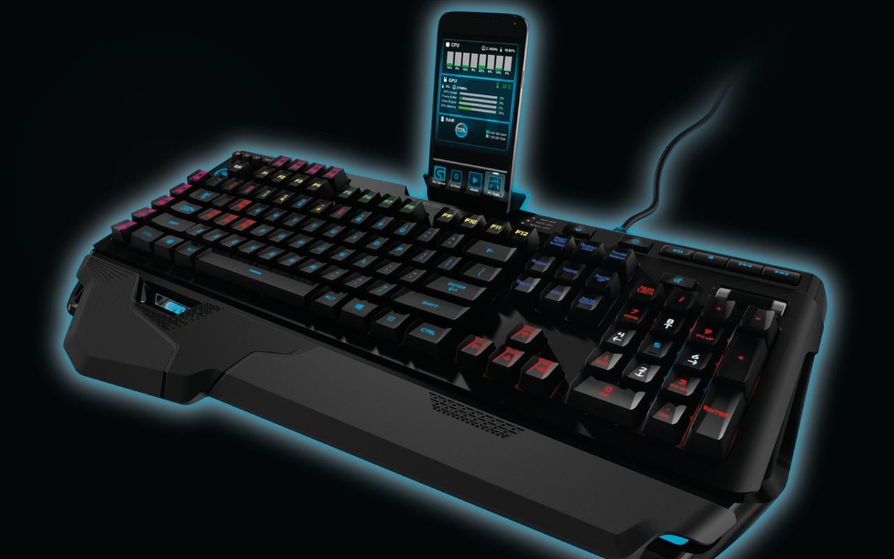 logitech introduceert geavanceerd toetsenbord voor gamers computer nieuws tweakers. Black Bedroom Furniture Sets. Home Design Ideas