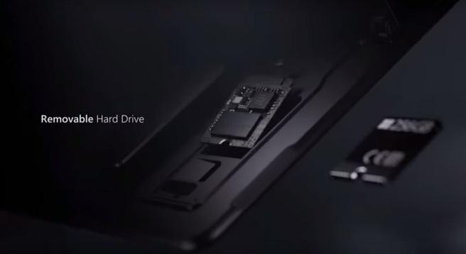 Surface Pro X ssd