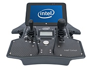 Intel Falcon 8+ cockpit