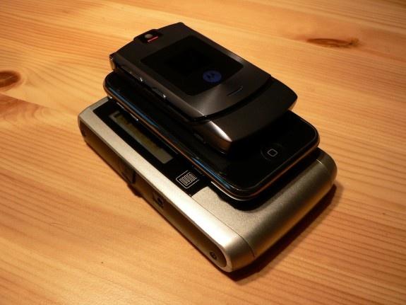 Stapel Van V3i, Iphone en Xclef