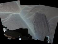 NASA Curiosity zandduinen