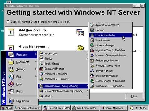Windows NT Server