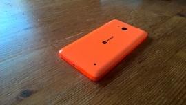 Achterkant van de Lumia 640