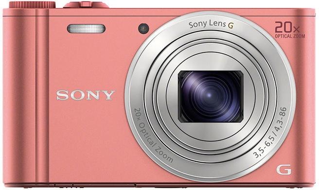 Sony Cyber-shot DSC-WX350 Roze