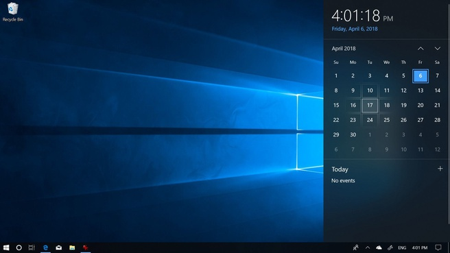 Windows 10 Spring Creators Update Fluent