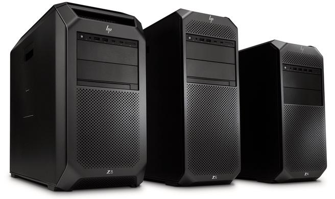 HP Z8, Z6 en Z4