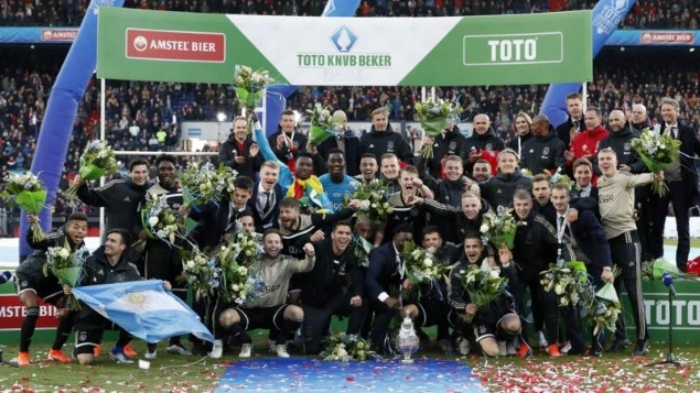 KNVB Beker Winnaar