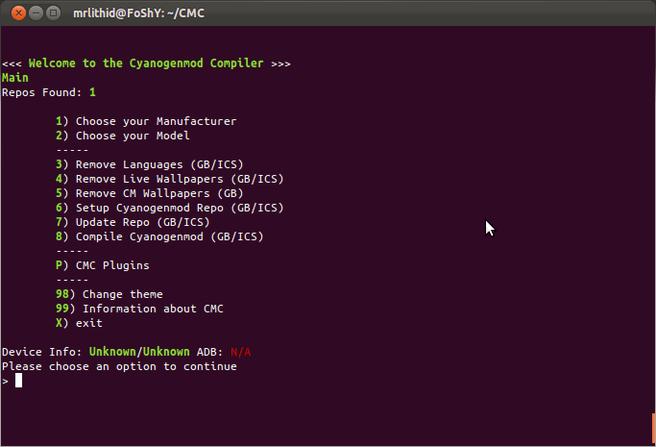 CM compiler
