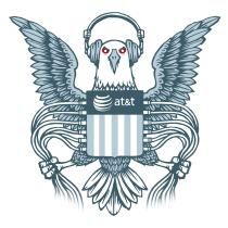 NSA-logo door EFF