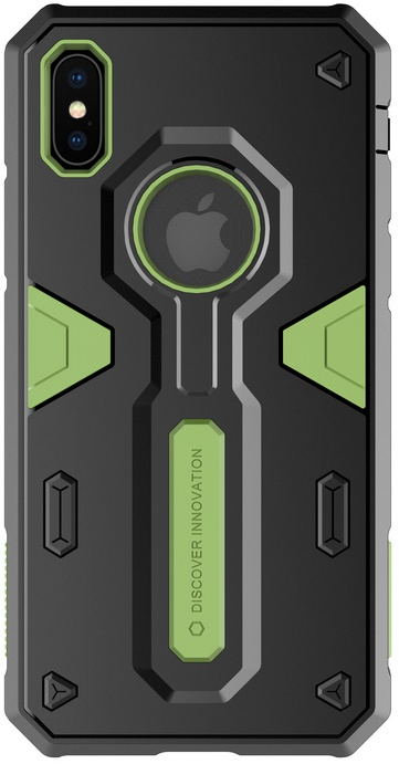 Nillkin Hard Case Defender - Apple iPhone XS Max (6.5'') - Groen  Groen
