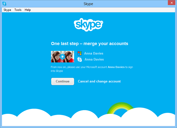 Live Messenger-migratie op Skype