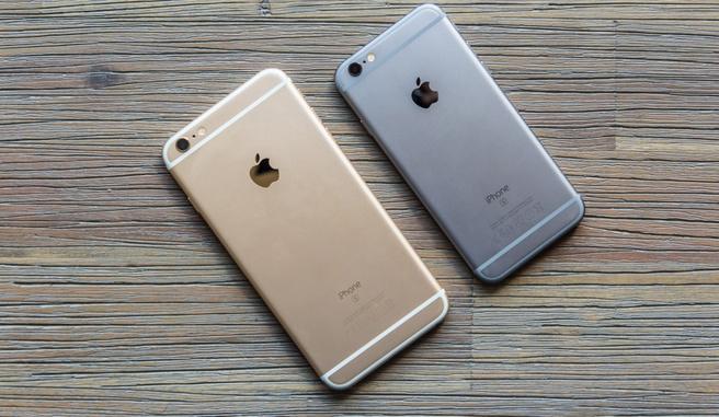iPhone 6S en 6S Plus foto's