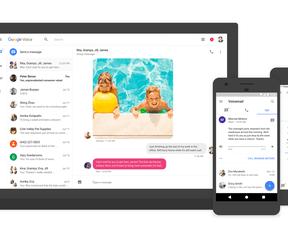 Google Voice update 2017