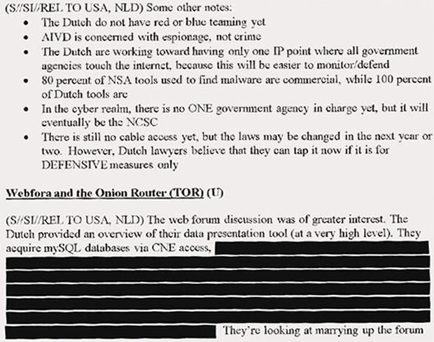 NSA AIVD CNE 30-11-2013 bron: NRC