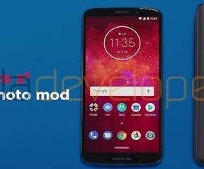 Moto Z3 met 5G Moto Mod