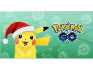 Pikachu met kerstmuts