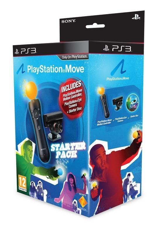 Sony PlayStation 3 Move Starter Pack Zwart
