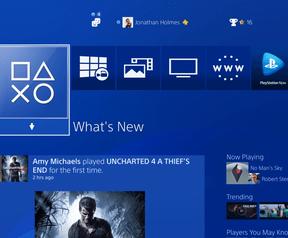 Screenshots van firmware 4.00 voor de PS4 / Playstation 4