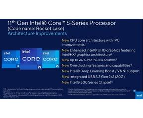 Intel Rocket Lake-S slides