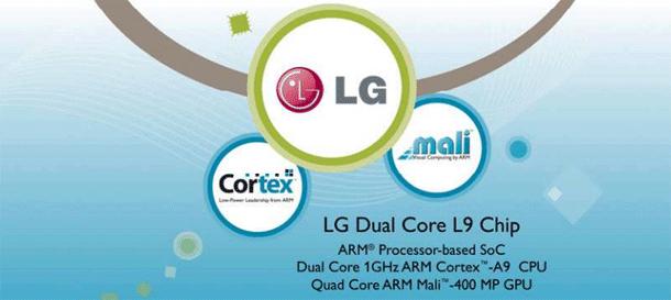 LG L9 chipset smart tv