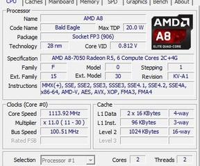 HP laptop A8-7050 dualcore vs quadcore