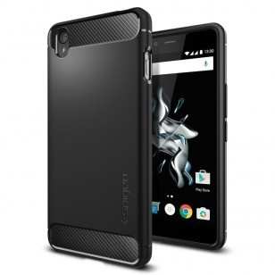 Spigen Rugged Armor OnePlus X Case - SGP11819 - Black