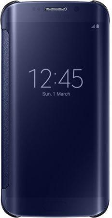 Samsung Galaxy S7 edge Clear View Cover Blauw Blauw